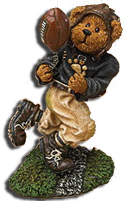 Boyds Sports Plush Teddy Bears, Figurines and Ornaments