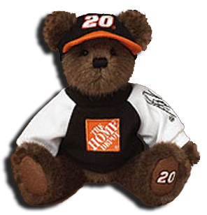We carry a large selection of NASCAR merchandise. From NASCAR Coca Cola Bears to NASCAR Key Chains it is all available here