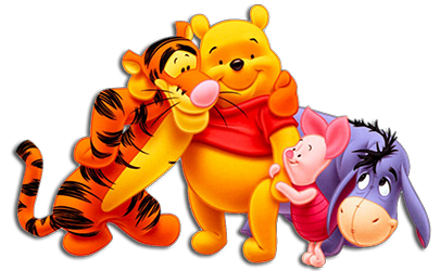pooh and friends image
