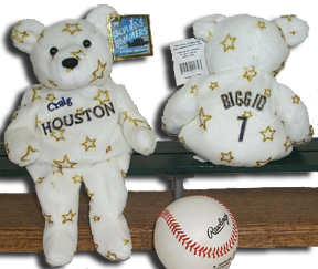 Baseball the National past time is available here in Teddy Bears, Easter Bunnies and Ornaments of your favorite sports star or find another unique item for your collection!