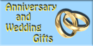 Unique gifts for Weddings and Annivesarys