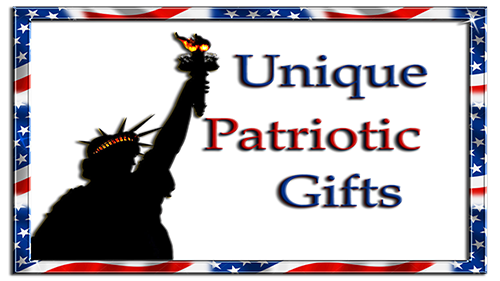 Unique patriotic gifts for New Years Eve, Memorial day, veteran's day, labor day and fourth of July
