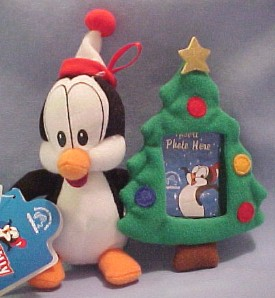 Click here to go to our selection of Walter Lantz's Chilly Willy Christmas Plush and Ornaments