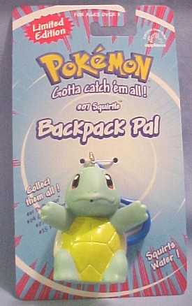 Click here to go to our Pokemon Backpack Clips Gengar Pikachu Charmander Bulbasuar Squirtle and MORE