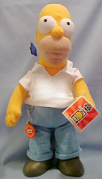 Are You A Big Simpson Fan, Then Buy The Simpsons Dolls Here Today!