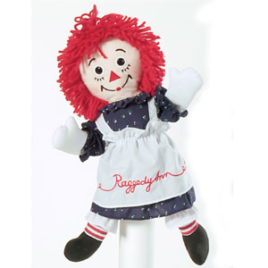 Click here to go to our Raggedy Ann and Friends Collectible Rag Dolls, Tea Sets, Figurines, Puppets and MORE