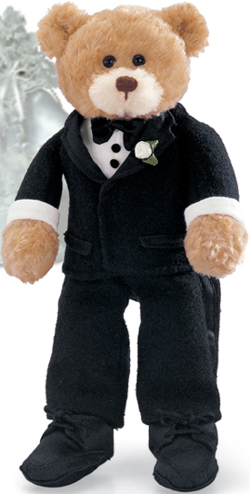 Click here to go to our Wedding Day Bride and Groom Teddy Bears by Gund