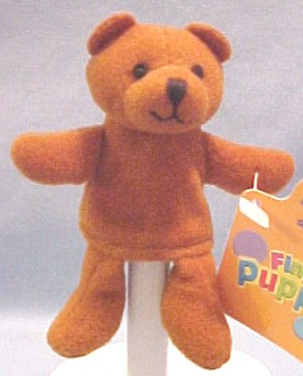 What a better way to enjoy a Teddy Bear than a puppet!  Adorable Teddy Bear Puppets to Tickle the imagination!