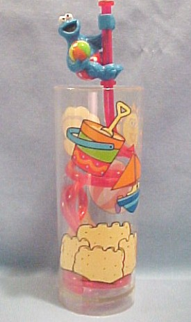 Click here to go to our Sesame Street Muppet Mealtime Fun Elmo Cookie Monster The Count and MORE in Mugs Straws Cups Cookie Jars