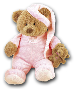 We carry a wide variety made for baby merchandise.  We have many decorations for baby's nursery including Teddy Bear Themes!