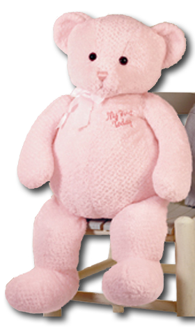 Get that little someone special their very first Teddy Bear. We have adorable cuddly soft pink My First Teddy Bears in stock and ready for a new home.