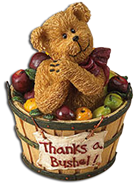 Boyds Bears have unique Thank You gifts in both stuffed animals and figurines. They are the perfect gift to let someone special know you thank them and appreciate them.