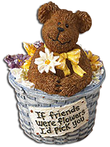 Boyds Bears Collection has many unique Friendship figurines that will make a great gift for friend to let someone know what they mean to you!