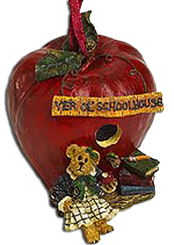 For Teacher Appreciation week or a thank you gift for doing such an outstanding job! We carry everything from the Large Boyds Teddy Bears down to the Trinket Boxes and for every occasion including ones for Teacher Appreciation!  Click here to view our range of Boyds' Teacher plush bears and bear figurine  editions.