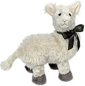 Boyds plush llamas are adorable with chenille fur and poseable. Cuddly soft and wearing a bow!