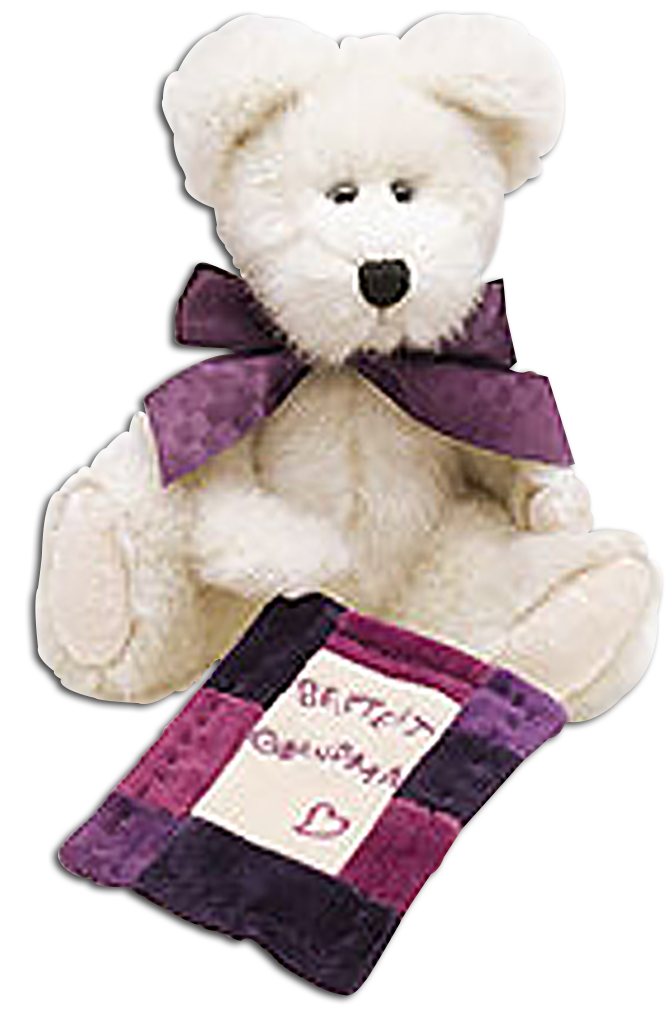 Adorable Boyds Plush Teddy Bears and More Dressed for Grandma gift on Mothers Day!