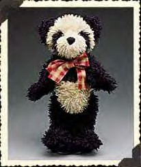 Boyds Bears Collection presents their pandas. Fully jointed Panda bears that are made from a cuddly soft plush fabric.