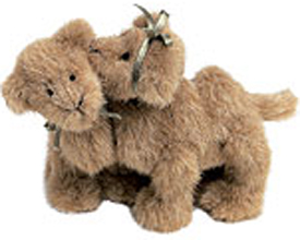 Boyds Plush Camels