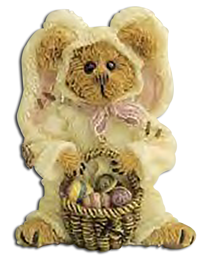The Boyds Bears You Can Wear are remarkable lapel pins and go GREAT with Easter! Each pin is made from cold cast resin and very detailed.