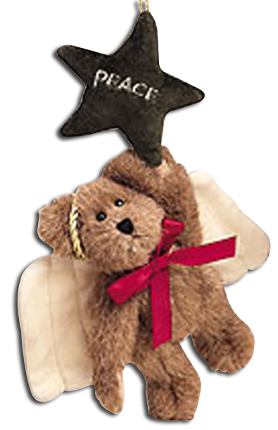 Angel Teddy Bear Ornaments