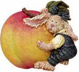 Click here to go to our for our selection of Boyds' Fridgewear Magnets Teddy Bears with Fruits and Veggies