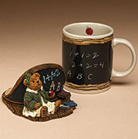 Click here to go to our for our selection of Boyds The Bear Hugs Ceramic Mugs For Teachers