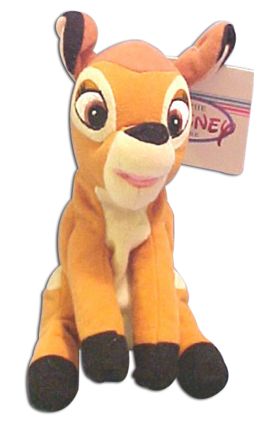 Click here to go to our selection of Disney's Bambi Plush Flower the Skunk Thumper the Bunny and Bambi the Deer