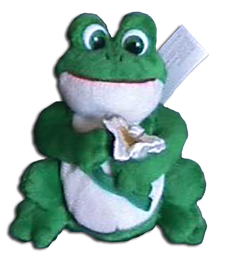 Click here to go to our Russ Berrie St. Patrick's Day Plush Frogs and Teddy Bears