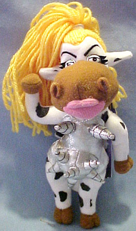 The adorable Comical plush Cows are sure to tickle the funny bone with Bessie Got Milked and Moodonna Madonna's alter ego!