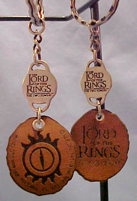 Click here to go to our Lord of the Rings Key Chains Eye of Sauron Orc Gimli Ringwraith and MORE