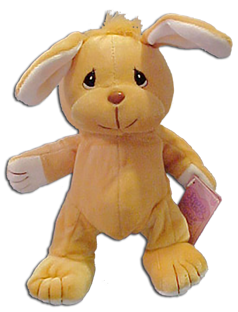 Precious Moments created some adorable Easter characters. From Easter Bunnies to an Easter Seal we have them here in Bean Bag Plush toys, stuffed animals and cute little ornaments or package tags.