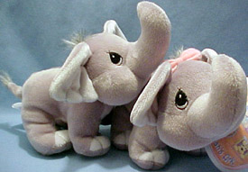 Adorable Precious Moments elephants from Christmas ornaments to stuffed animals all with those can not resist tear drop eyes.