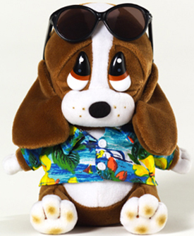 We have many Sad Sam & Honey Basset Hounds available in Plush, Backpacks, Picture Frames and stationary. They come dressed for all occasions: Birthdays, Get Wells, CHristmas, Graduation, and Easter.