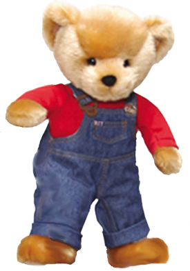 The adorable Blue Jean Teddy and Friends from the book Blue Jean Teddy can now come to your house to play!