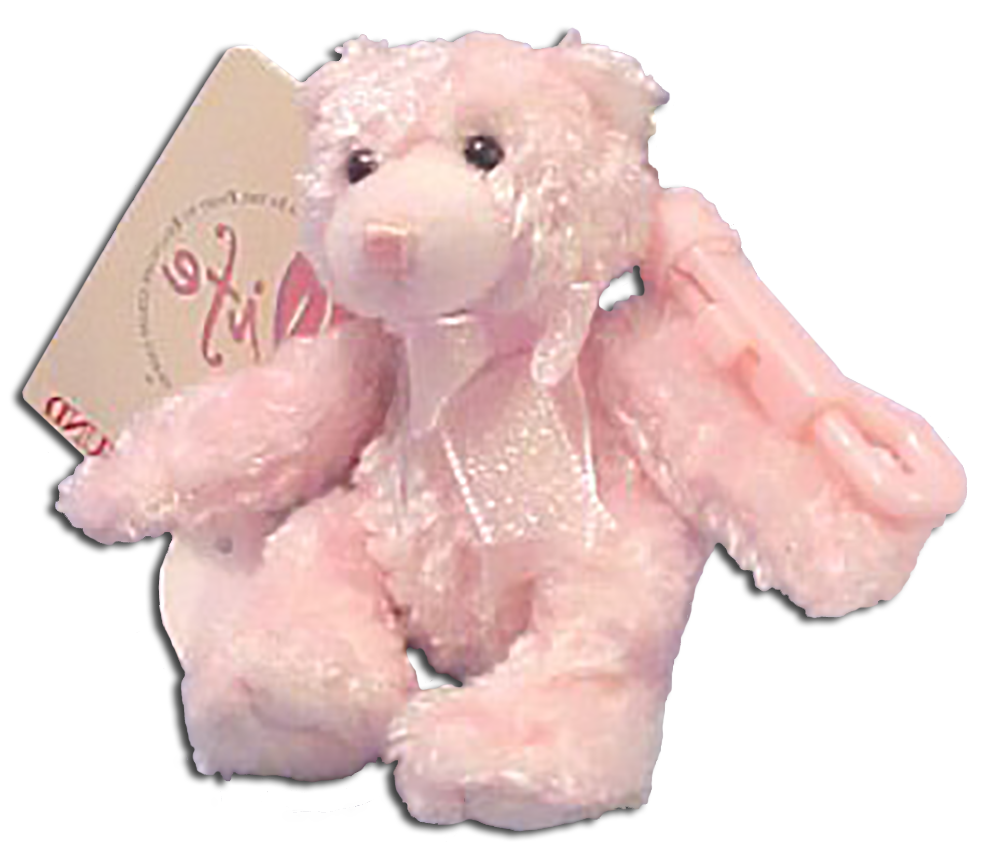 Gund is supporting the fight against breast cancer with an adorable pink teddy bear key chain and club cover. From the sale of these items, a donation is made to the LPGA Pro Val Skinner Foundation.