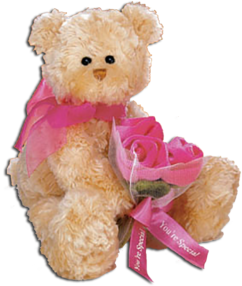 Teddy Bears are sure to put on smile on Mom's face on Mother's Day. A Soft cuddly friend for Mom to curl up with while you do all the chores!