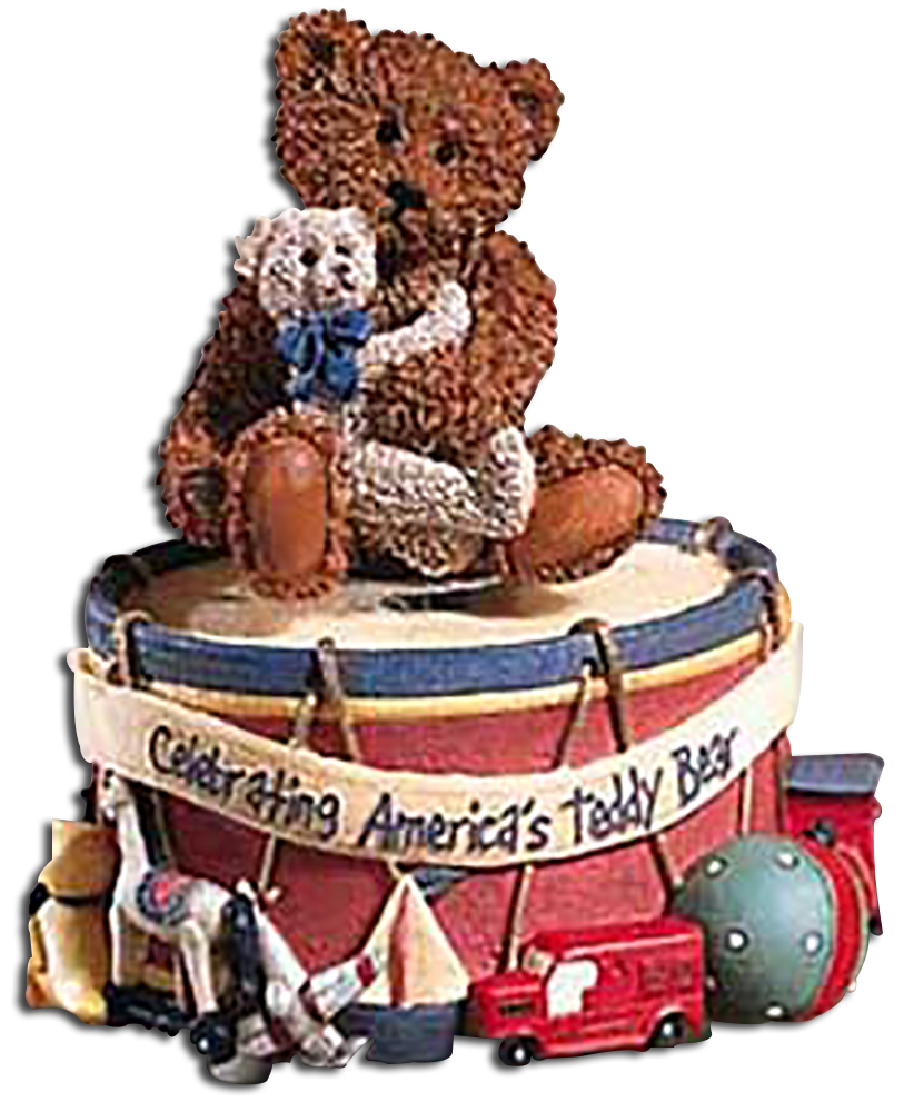 Patriotic Teddy Bears to Celebrate 100 years of the Teddy Bear