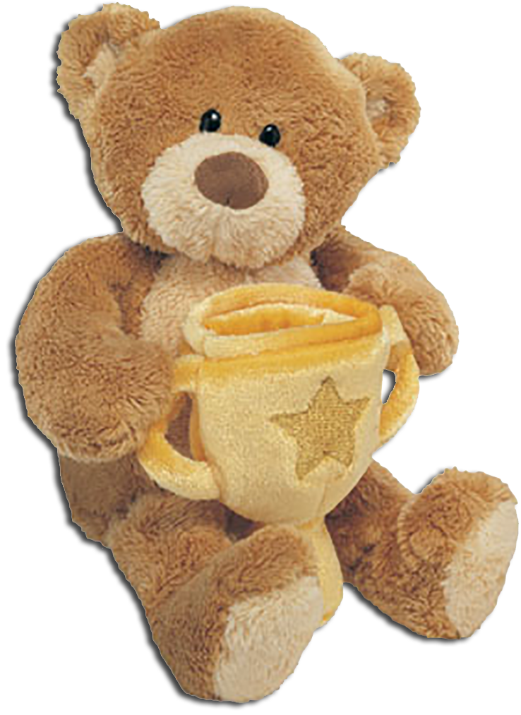 Adorable Gund plush teddy bears are ready to wish Congratulation to someoene special!