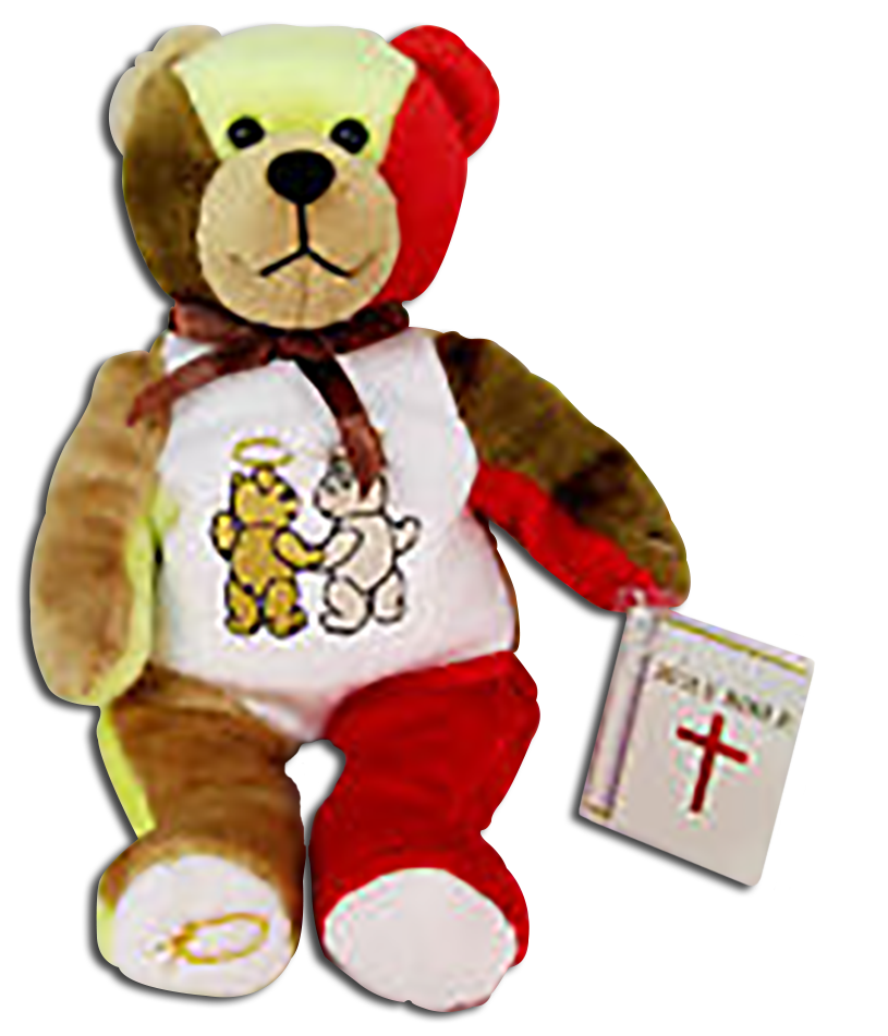 A Christian gifts of Friendship. There adorable teddy bears were made by Holy Bears and were made for friendship gifts for that someone special!