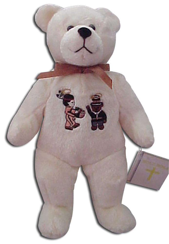 Christian gifts for the Thanksgiving holiday. These adorable teddy bears were made by Holy Bears and celebrate the Thanksgiving holiday making for great Thanksgiving decorations!