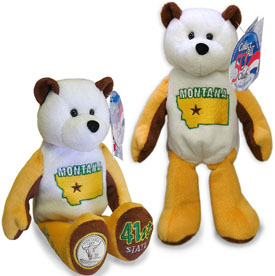 Cuddly Collectibles - United States Quarter Teddy Bears