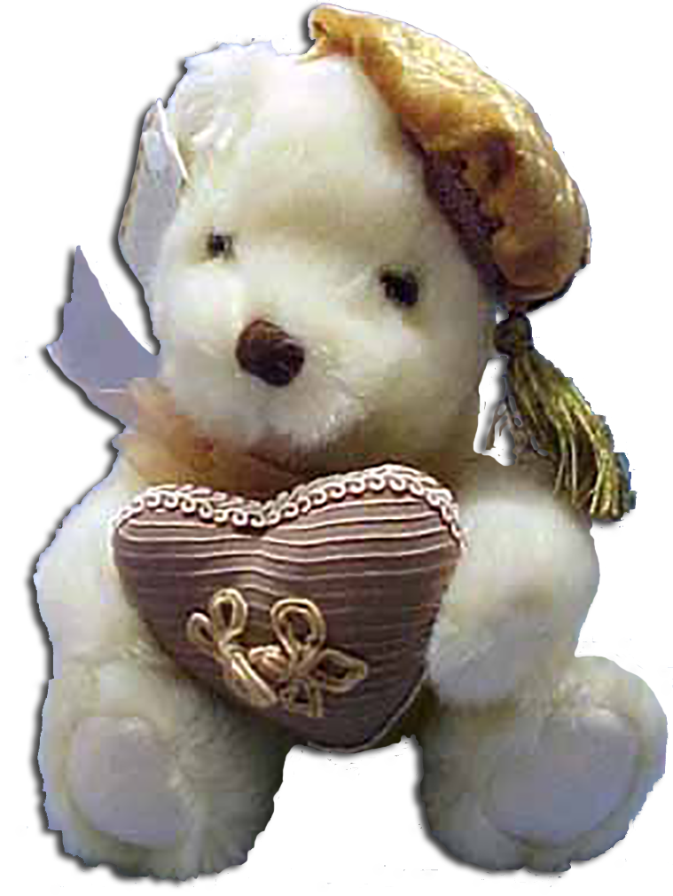 Cuddly soft plush teddy bears for Mother's Day. Choose from Antique Heart Throb teddy Beras to Mom's Taxi bears.